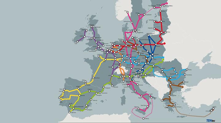 TEN-T Core Network Corridors