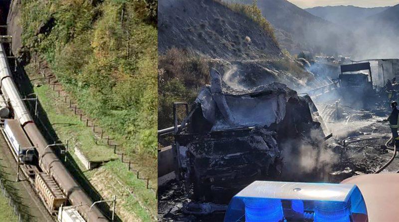 Trasporti merci Alpi TIR / Treno